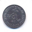 Wertmünze mit Kinderplanet Logo