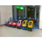 Andockstation für Kinder-Einkaufswagen