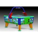 Airhockey-Tisch für Kinder im bunten Design