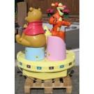 Carousel Winnie The Pooh and Tigger  Original Walt Disney Lizenz by Groupe Christian Dubosq