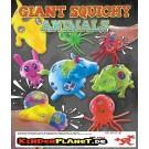 Giant Squishy Animals 63 mm Meshballs