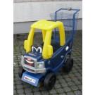 Kinder-Einkaufswagen blau