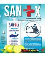 Sanix HÄNDE Desinfektionsmittel in 63 mm -> Schützen Sie sich und andere!