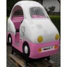 Rosa Hallo Katze Bus Toy Town PINK