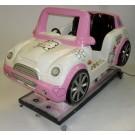 Katzen-Auto, rosa mini car