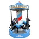 Gallopers Pferde Karussell Vorführgerät