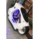 Futuristisches Super-Rennbike mit LED