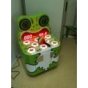 Geschick spielerisch testen: Hammerspiel Frosch