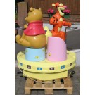 Carousel Winnie The Pooh and Tigger  Original Walt Disney Lizenz by Groupe Christian Dubosq